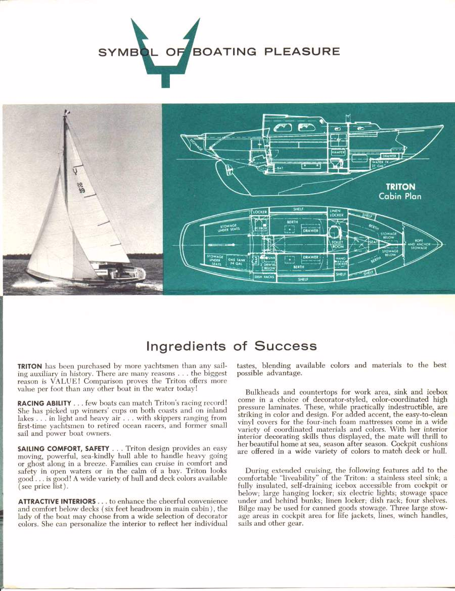 Pearson Yachts Designs